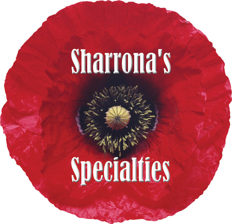 Sharrona's Specialties Poppy Logo